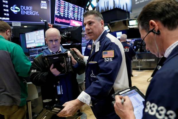 Wall Street nosedives as investors flee on trade war fears