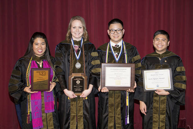 Southwestern Oklahoma State University College of Pharmacy seniors honored
