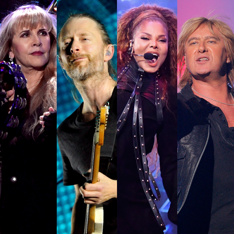 The 2019 Rock Hall inductees are: Stevie Nicks, Janet Jackson, Radiohead and more
