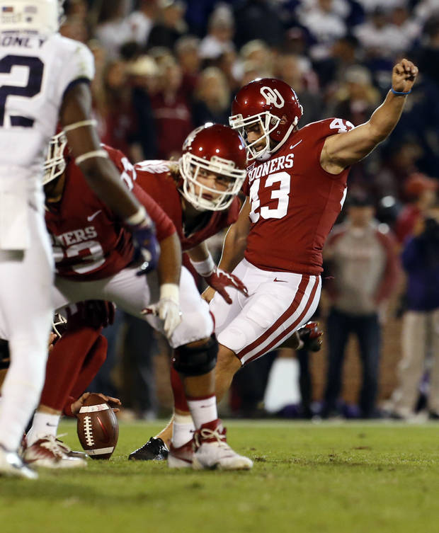 Austin Seibert becomes another weapon for OU