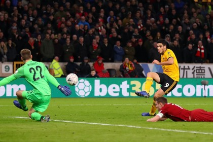 FA Cup: Wolves through after beating Liverpool and Arsenal draw Man Utd