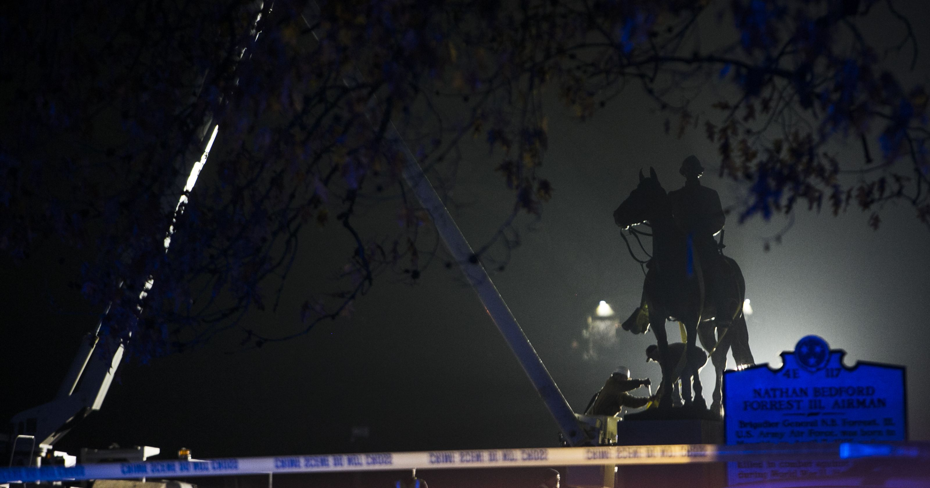 Judge: Removal of Confederate statues in Memphis was legal