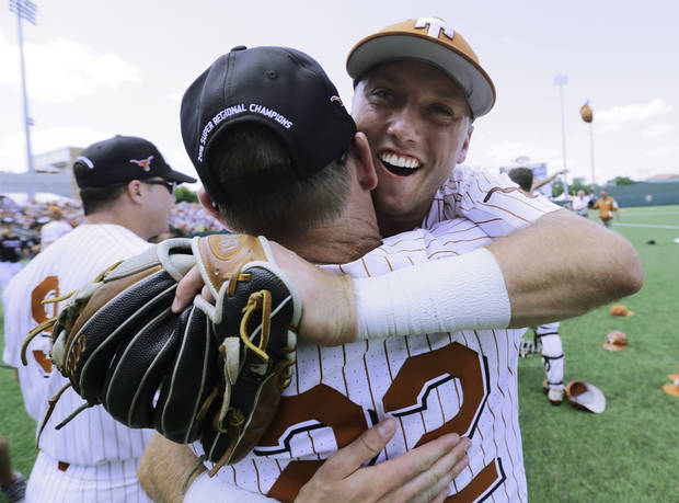 Kody Clemens' big bat leads Texas back to College World Series