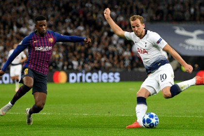 Champions League: Barcelona vs. Tottenham team news, group B permutations, TV channel