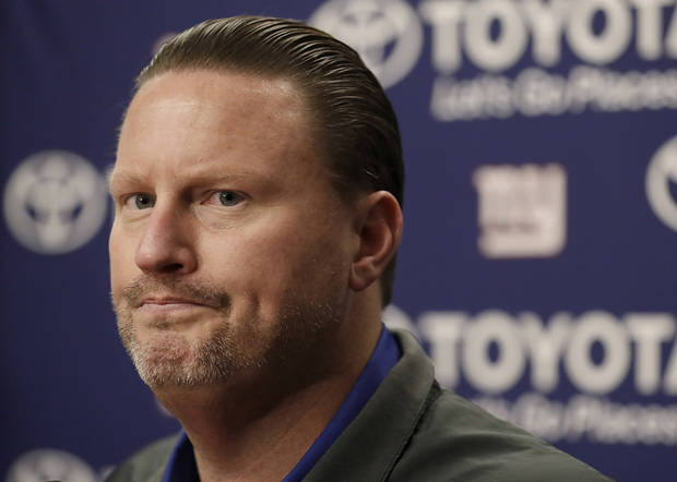 Reeling Giants fire coach McAdoo, GM Reese after 10th loss