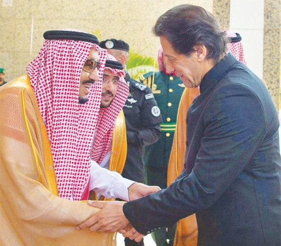 Pakistan, Saudi Arabia pledge to defeat terrorism