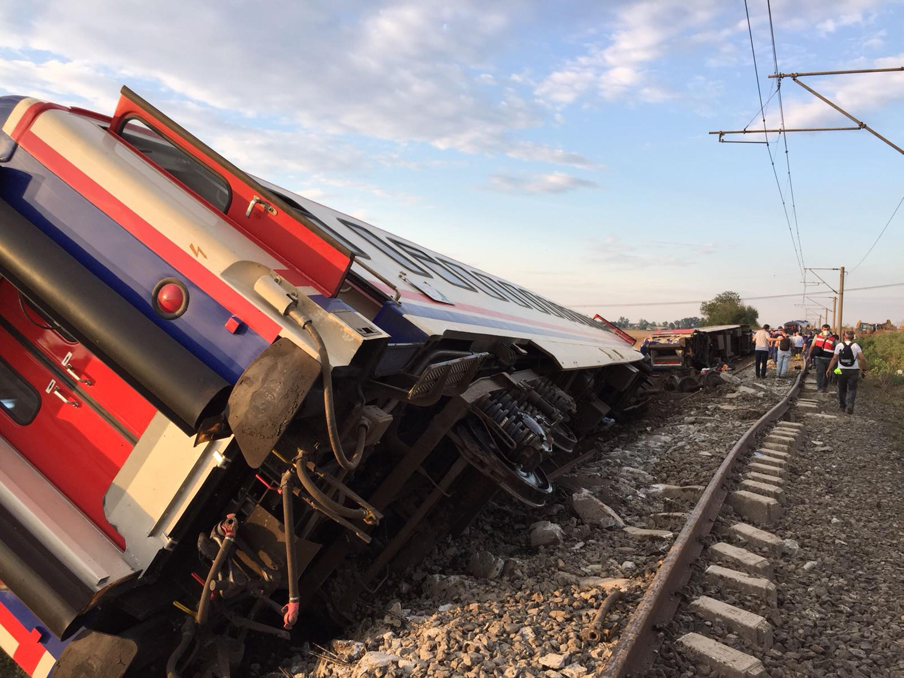 Train derailment in Turkey kills 24, injures more than 300
