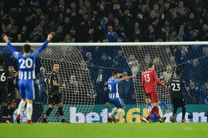 Video: Glenn Murray goal gives Brighton win over Crystal Palace in the FA Cup