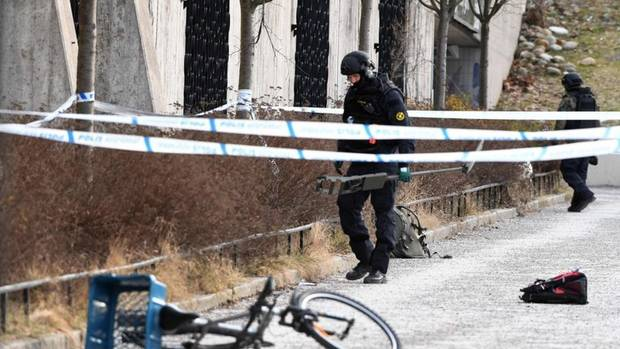 Man dies in explosion at Stockholm station