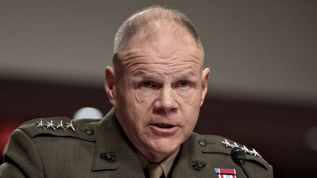 Senators grill top Marine over nude photo scandal
