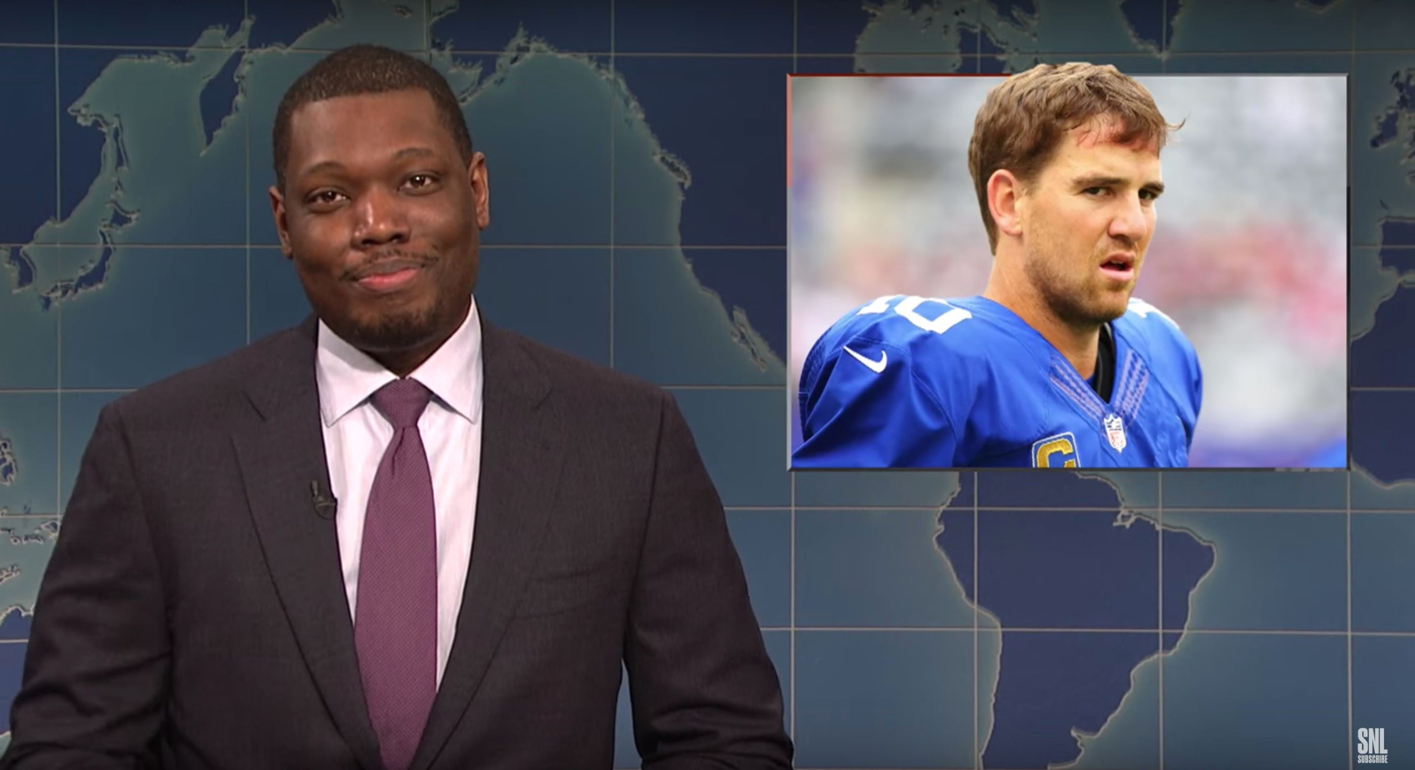 SNL zings benched Eli Manning