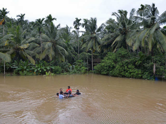 Modi to visit flood-battered Kerala; rescue operations under way