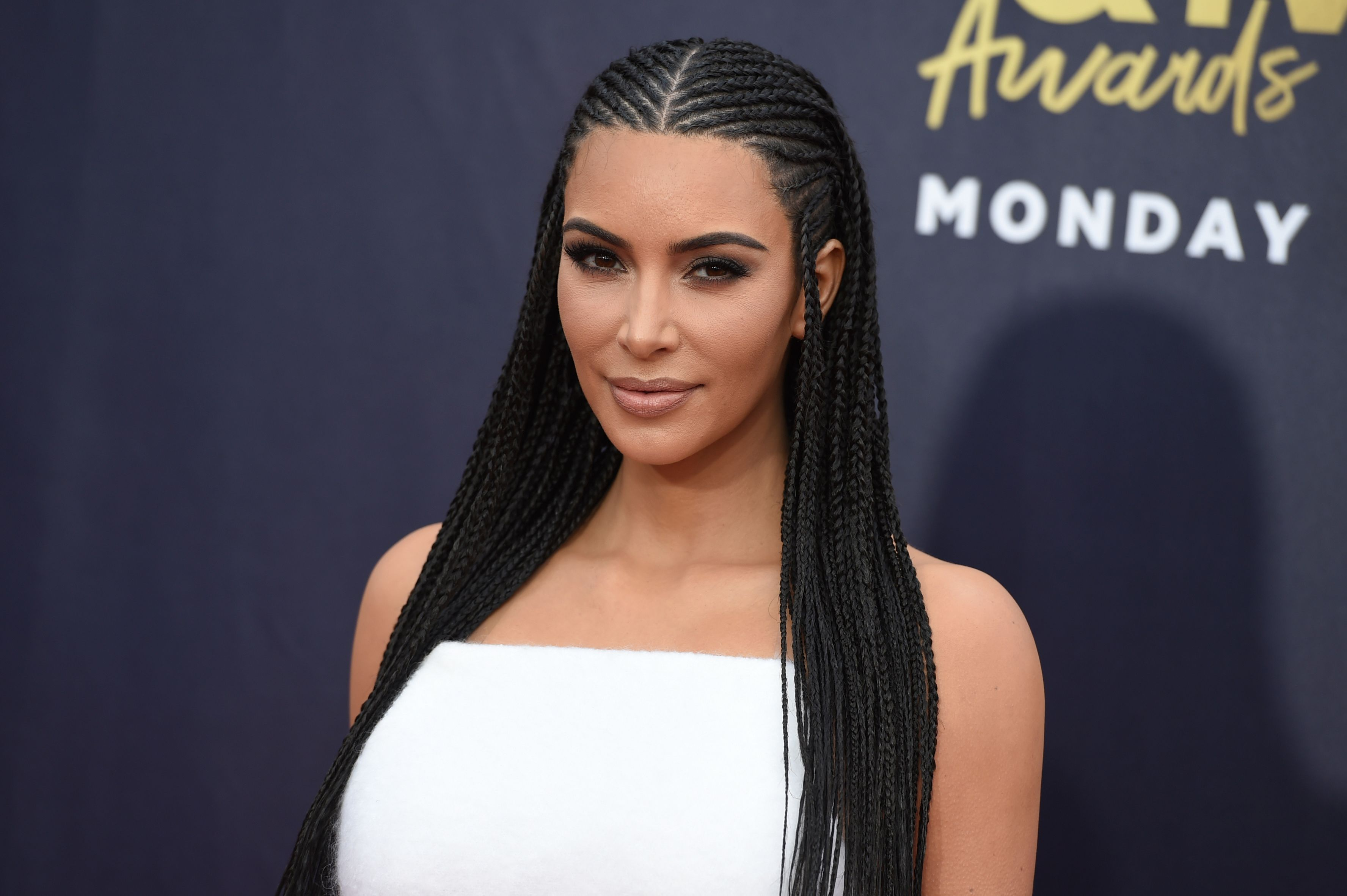 Kim Kardashian West slammed as 'ignorant' for wearing braids at MTV Movie & TV Awards
