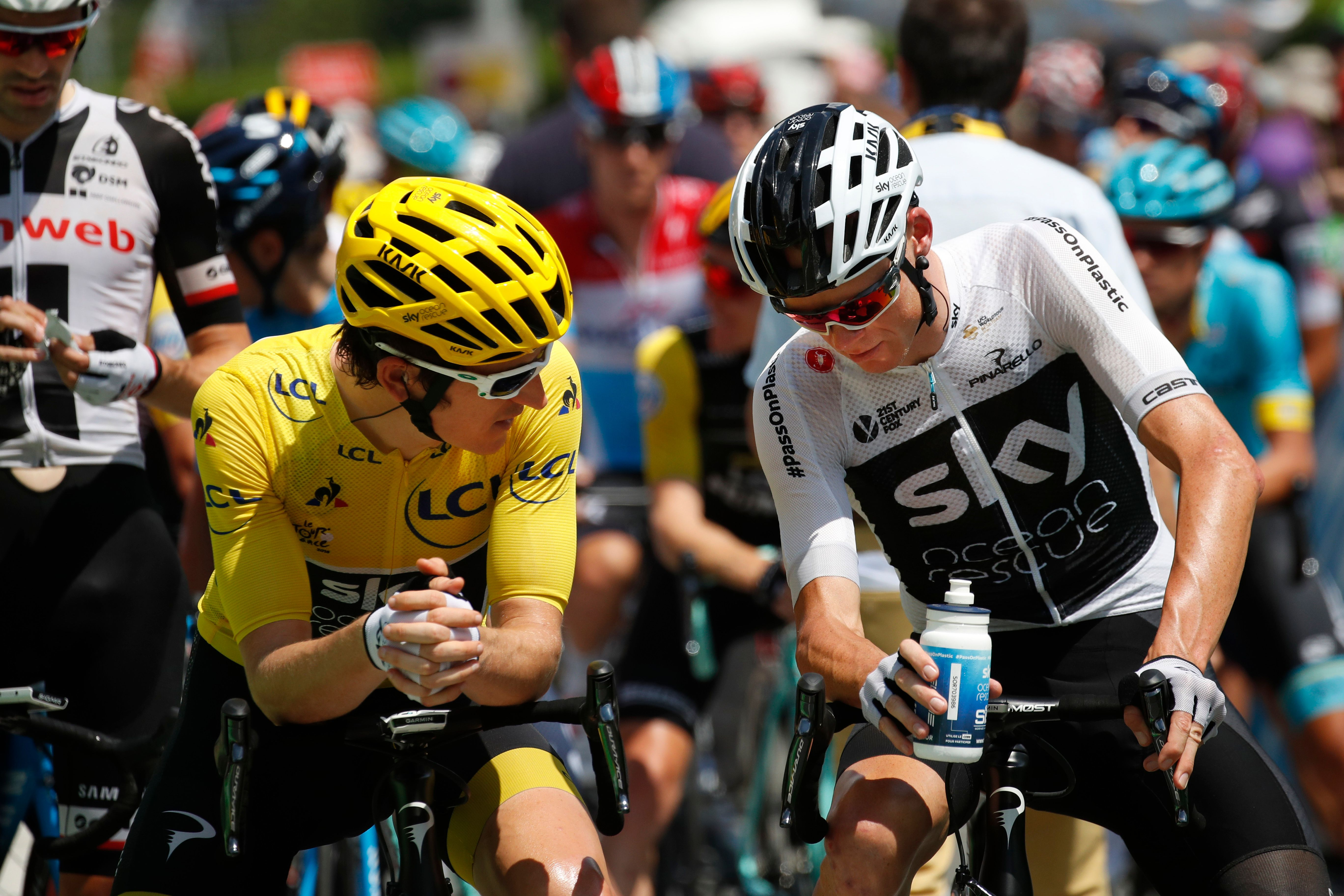 Froome cracks in the Pyrenees as Thomas solidifies Tour lead