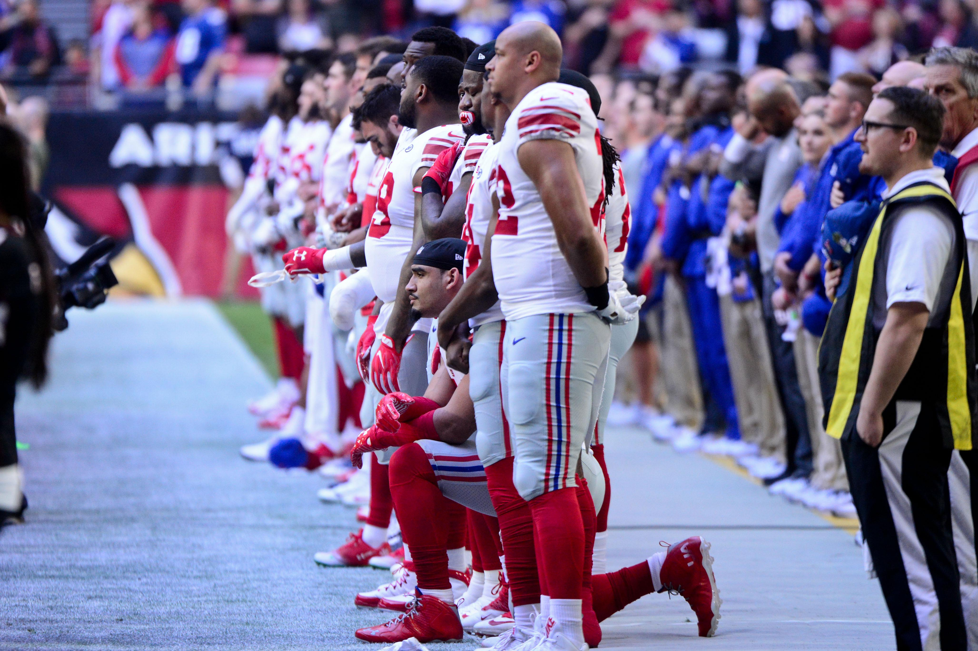 NFLPA files grievance challenging league's new national anthem policy