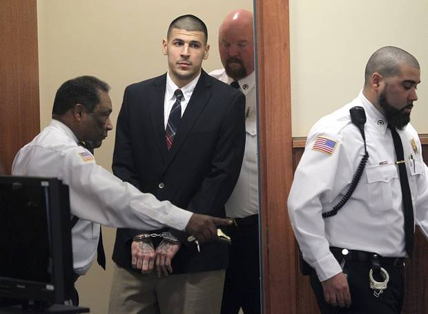 The Latest: Hernandez pal can't believe he killed himself