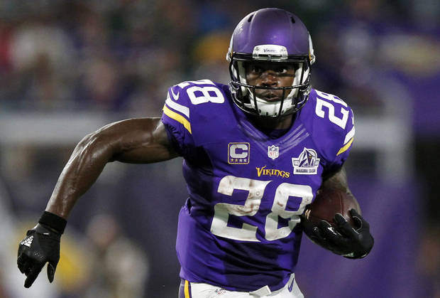 Peterson a free agent after 10 years with Vikings