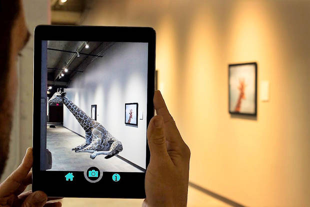 Science museum hosts augmented reality pop-up museum through Jan. 14