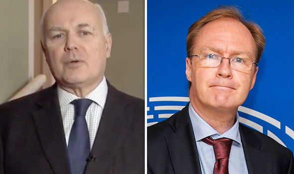 IDS rages at 'pompous' Sir Ivan Rogers over anti-Brexit leaks – 'He's not God almighty'