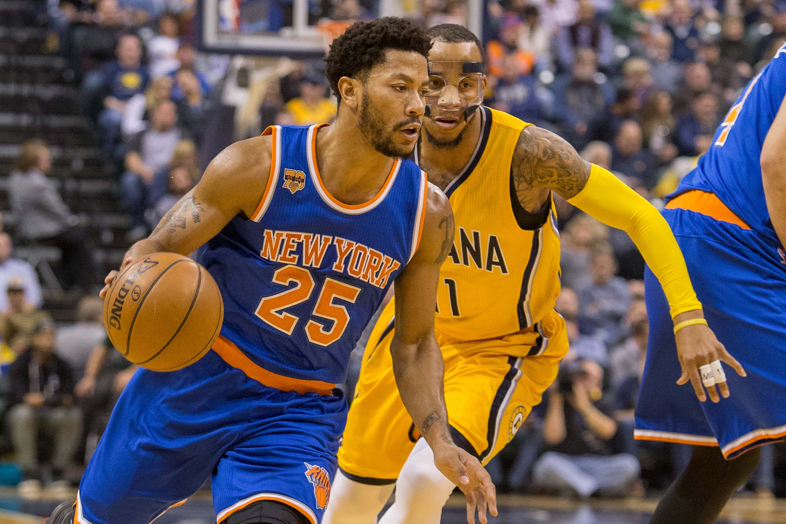 Derrick Rose misses New York Knicks game for undisclosed reason