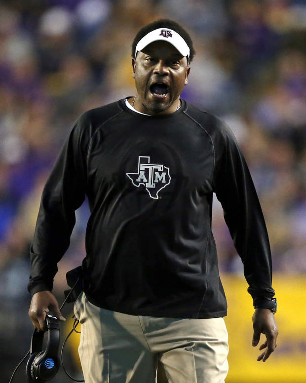 Texas A&M fires coach Kevin Sumlin after 6 seasons