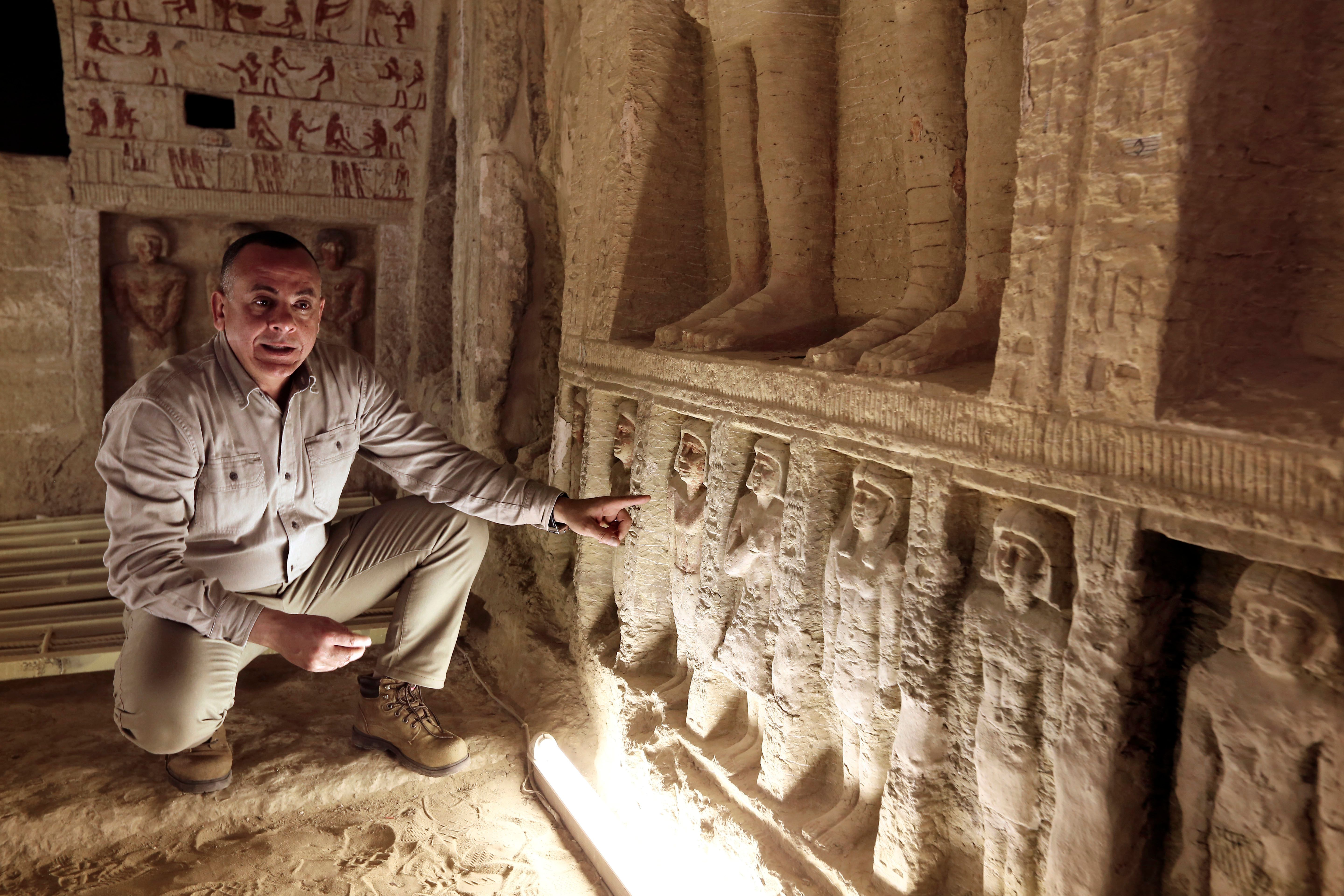 'One of a kind' royal tomb is 4,400 years old, Egypt says