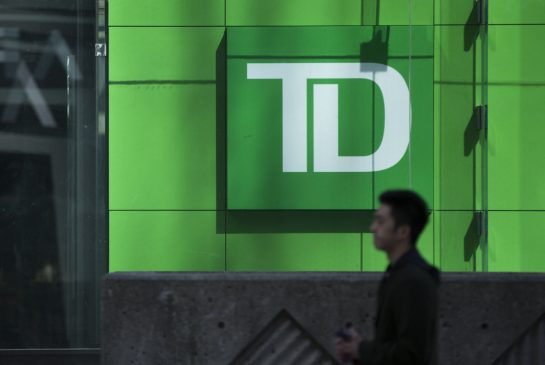 TD Bank's net income grows 22% to $2.5 billion