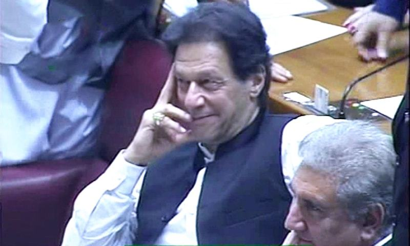 Imran Khan elected prime minister with 176 votes