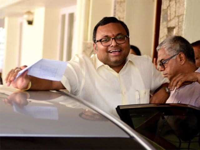 ED files charge sheet against Karti Chidambaram in Aircel-Maxis case
