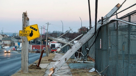 Thousands of Nova Scotians still without power after Christmas Day storm