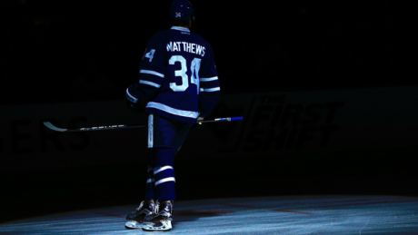 Auston Matthews' Maple Leafs jersey (almost) for sale