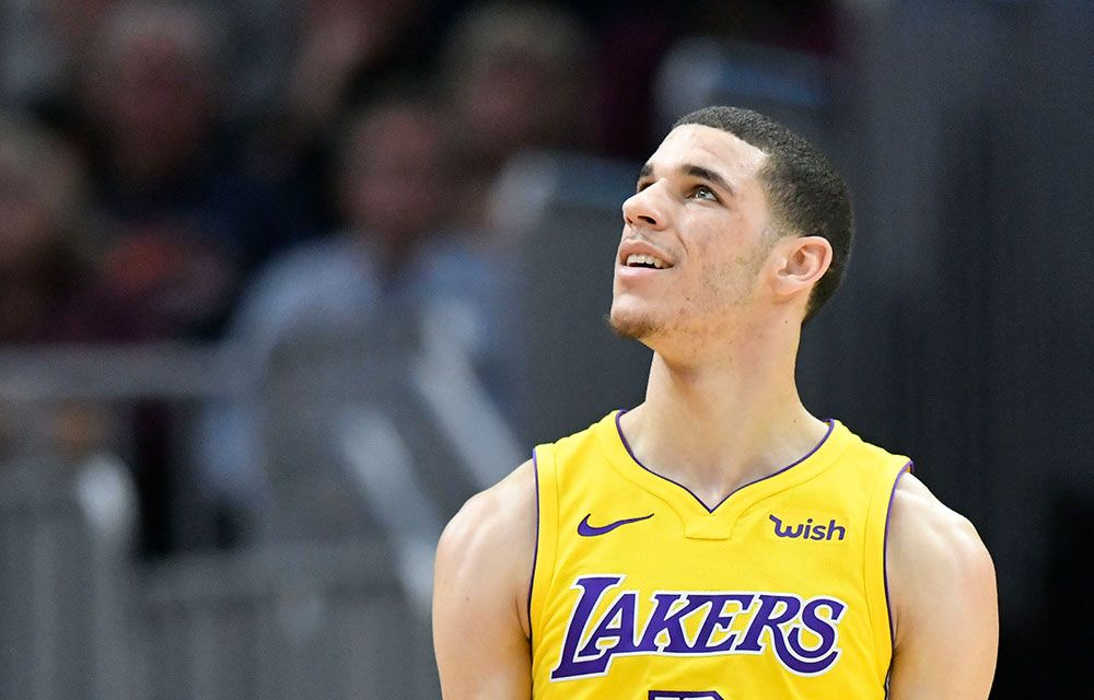 Lonzo favorite to be caught with burner account
