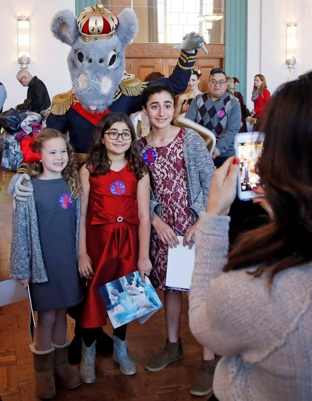 Photos & video: Oklahoma City Ballet celebrates Christmas season with Nutcracker Tea in the Kingdom of Sweets