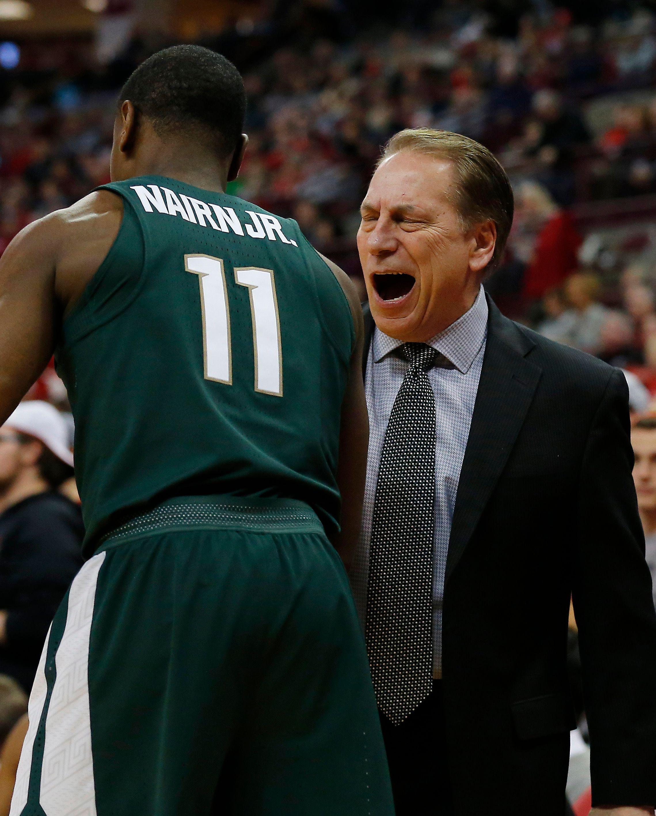 Couch: 3 quick takes on Michigan State's 80-64 loss at Ohio State - Izzo's bad day, etc.