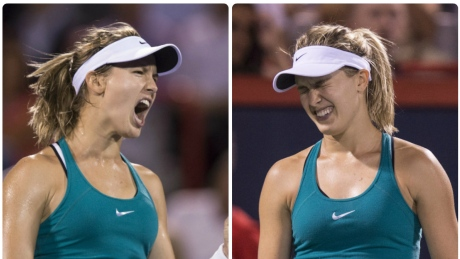 Rogers Cup serves Eugenie Bouchard some painful lessons