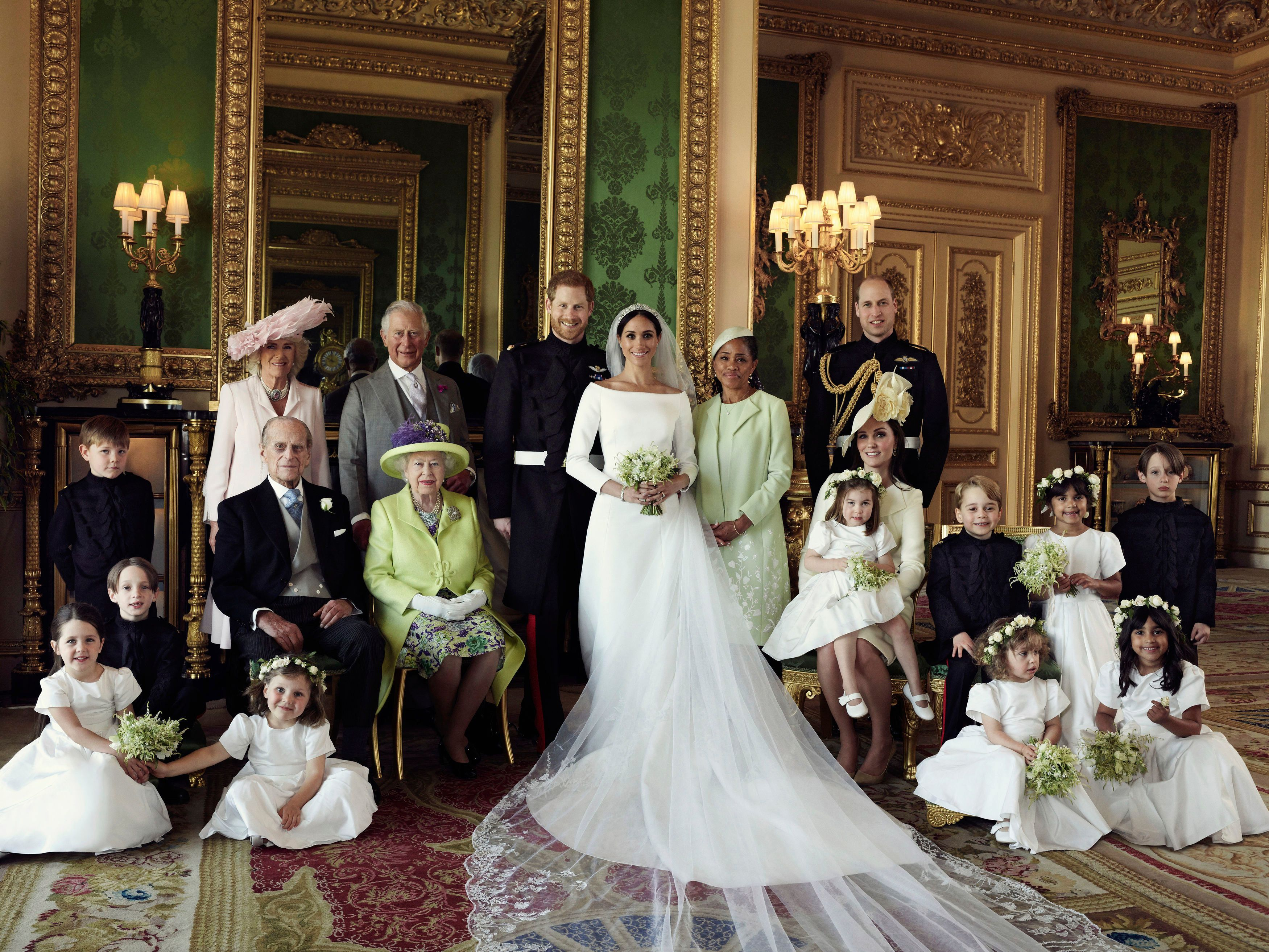 Royal wedding 2018: See Prince Harry and Meghan Markle's official wedding portraits
