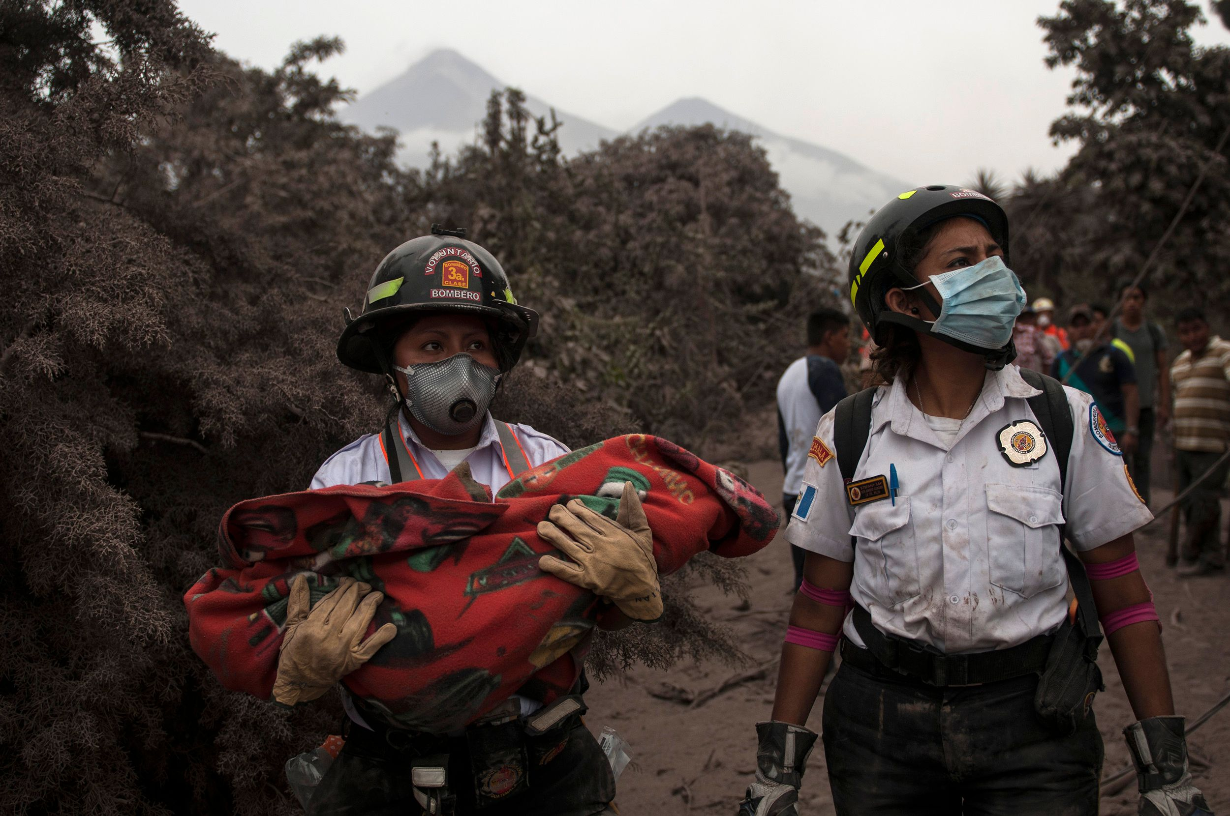 A 'hot avalanche' of volcanic ash and rock killed dozens of people in Guatemala