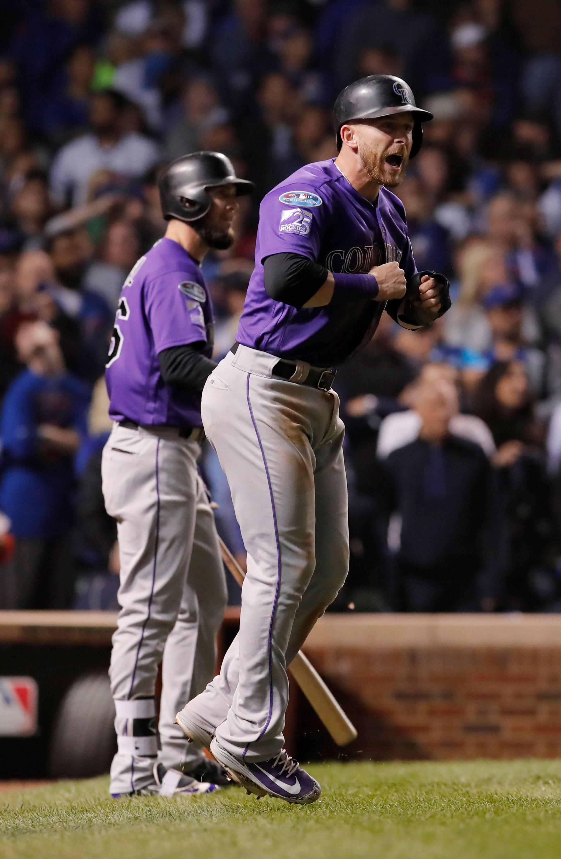 Rockies defeat Cubs in NL wild card, advance to play Brewers in Division Series