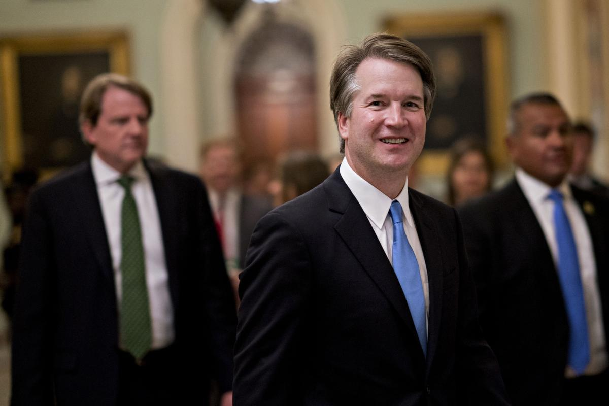 Parties collide as Trump's pick for Supreme Court begins his fight for confirmation
