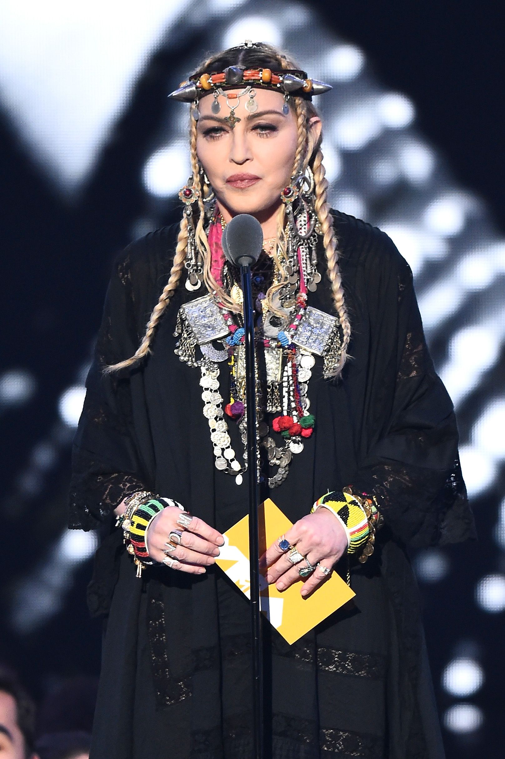 VMAs: Madonna bashed over Aretha Franklin 'tribute'