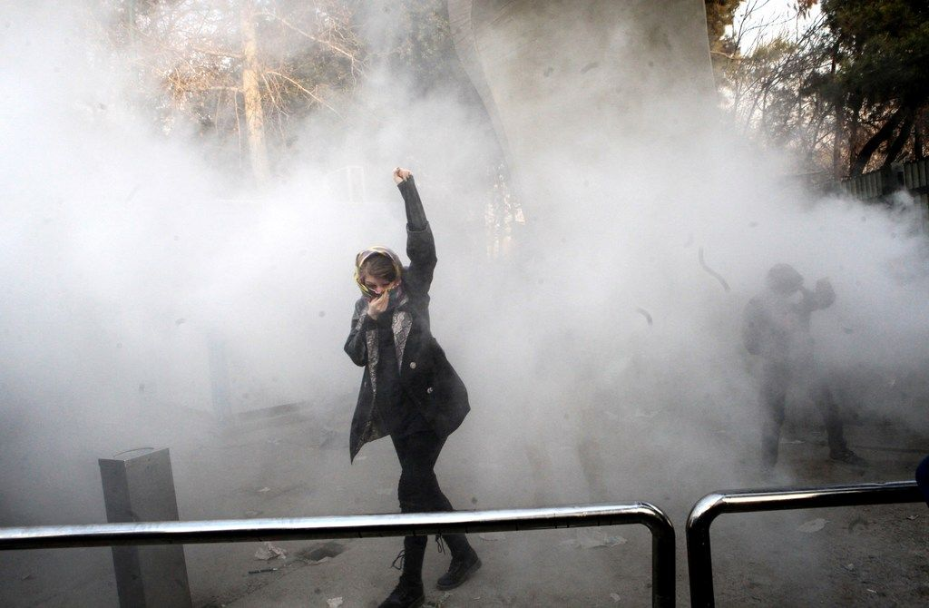 Iranian state TV: 10 people killed amid nationwide protests