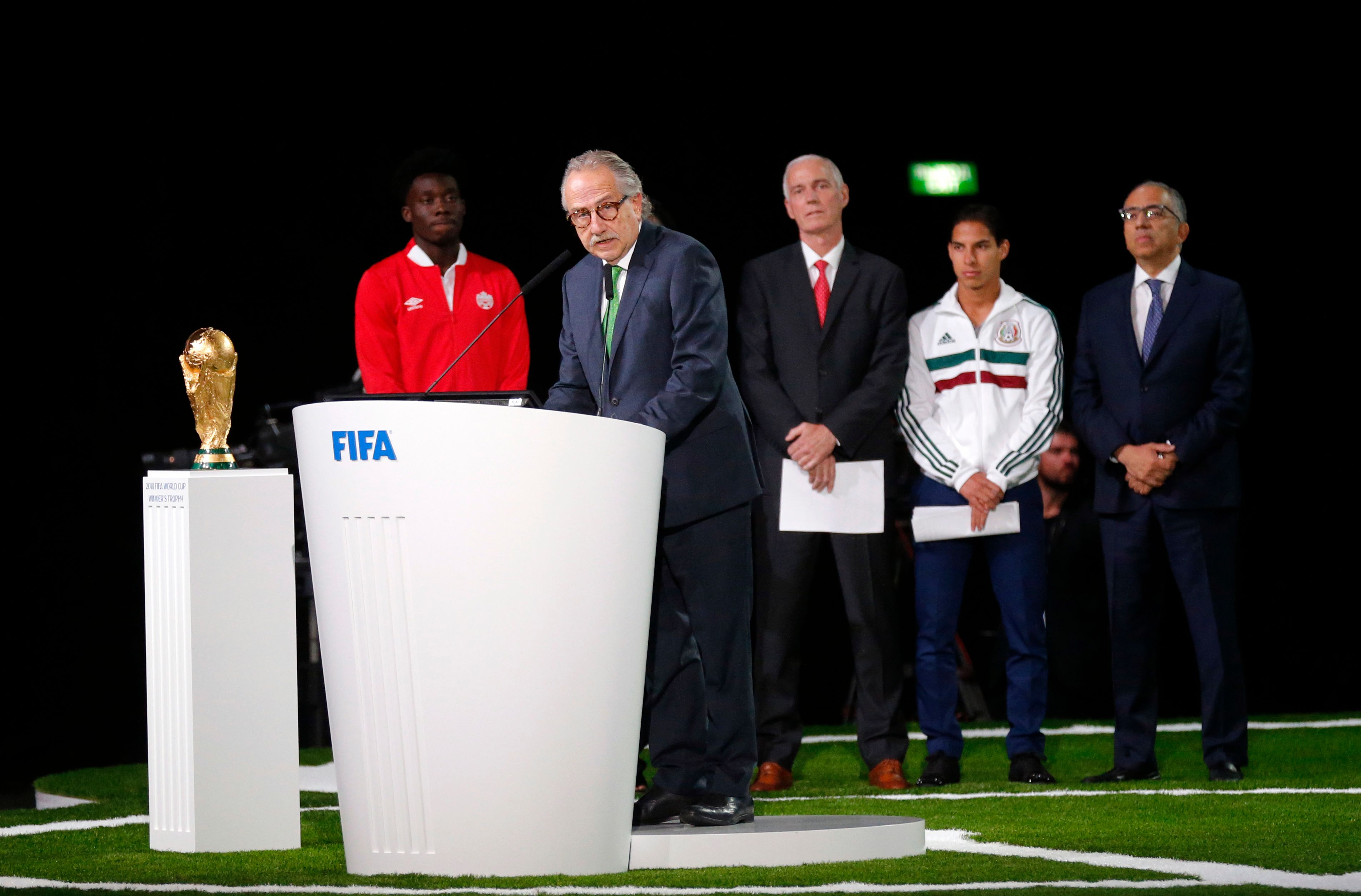 The Latest: North America wins vote to host 2026 World Cup