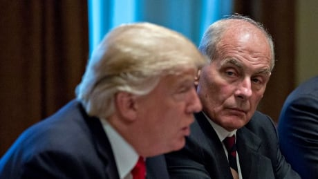 Trump's chief of staff John Kelly to leave at end of year