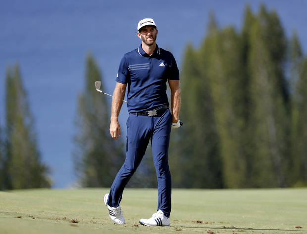 Dustin Johnson powers his way to win at Kapalua
