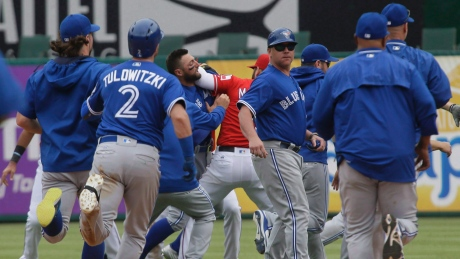 Blue Jays, Rangers bring hard feelings into ALDS rematch