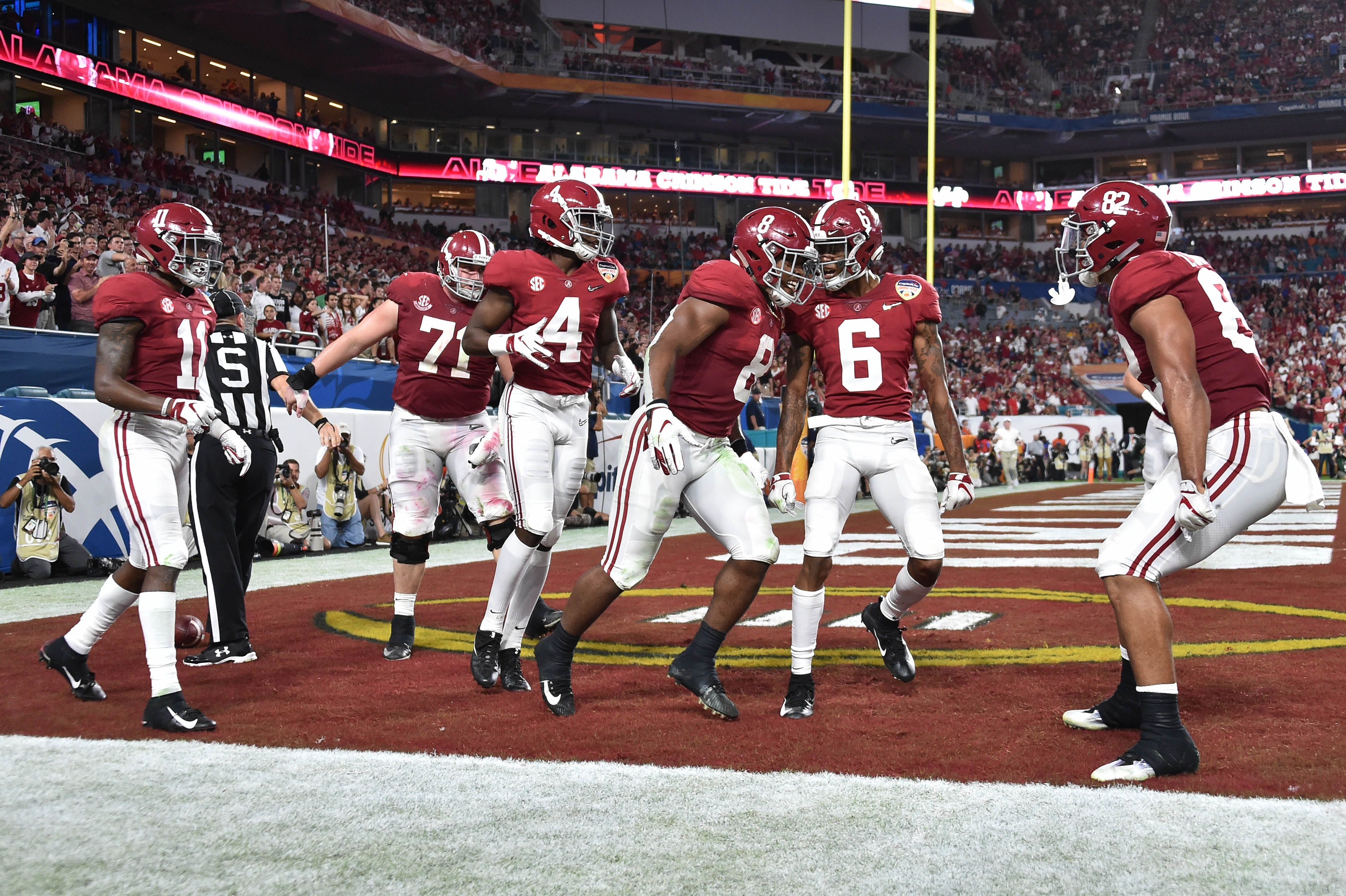 Alabama returns to title game after beating Oklahoma in Orange Bowl
