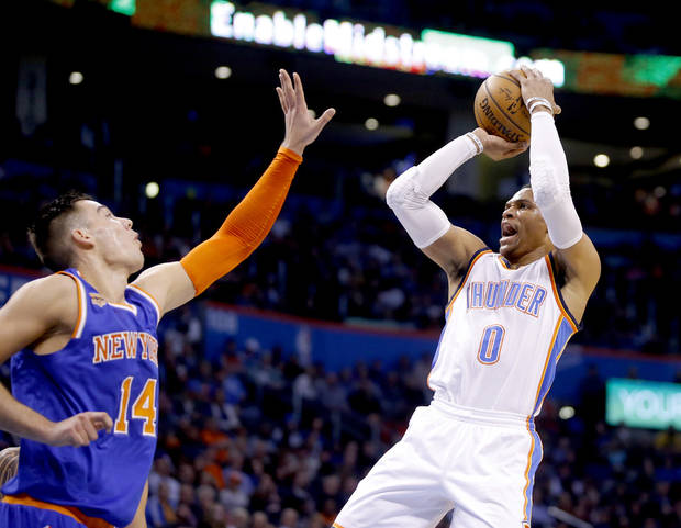 OKC Thunder: How Russell Westbrook stacks up in the MVP race