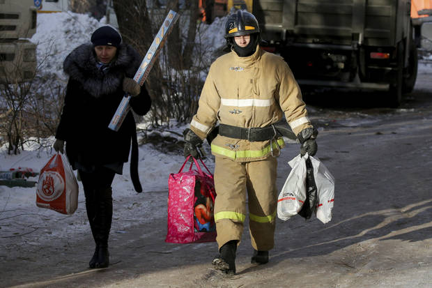 Death toll in Russian apartment collapse rises to 33
