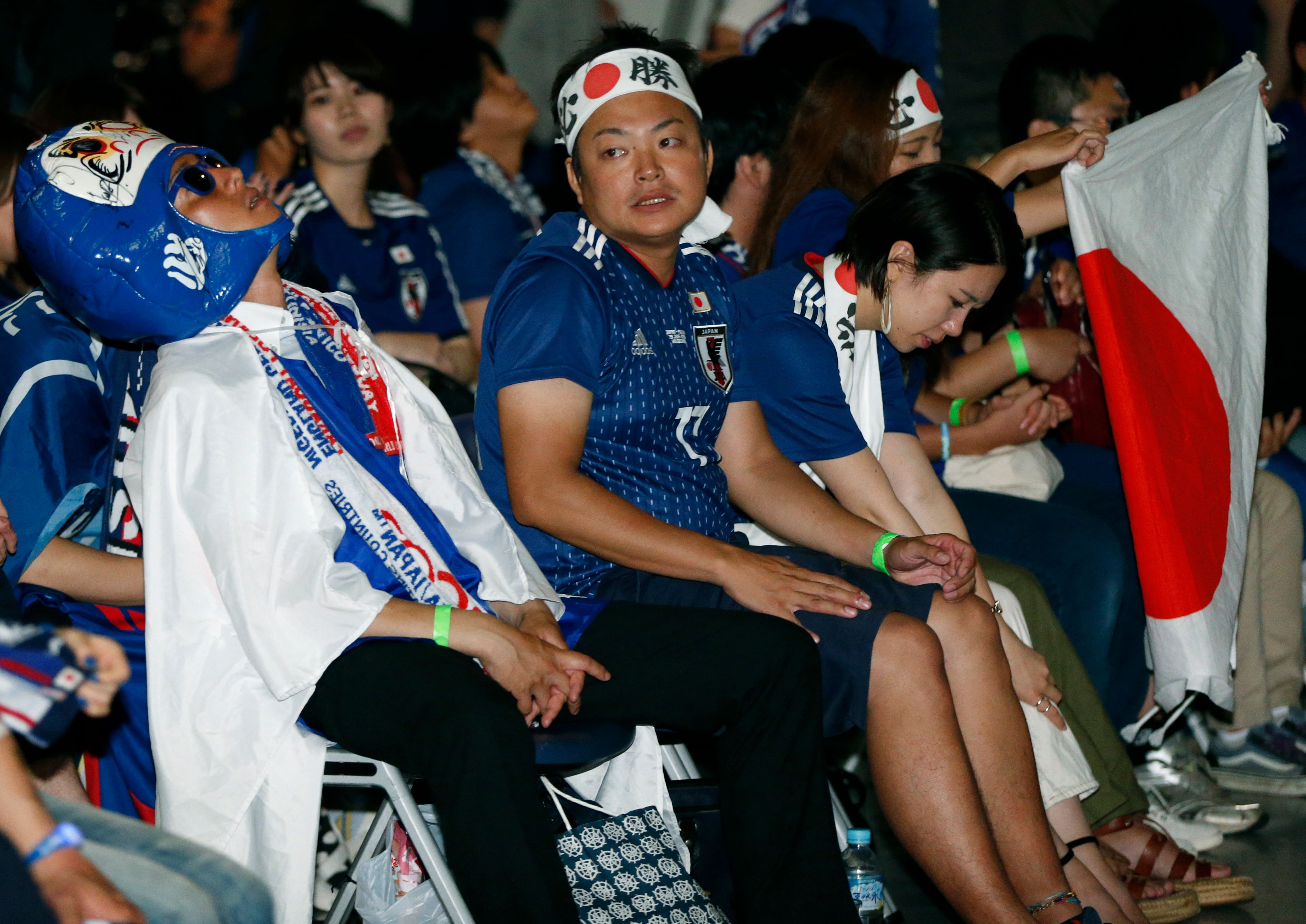 Japan fails once again to go past the World Cup's last-16