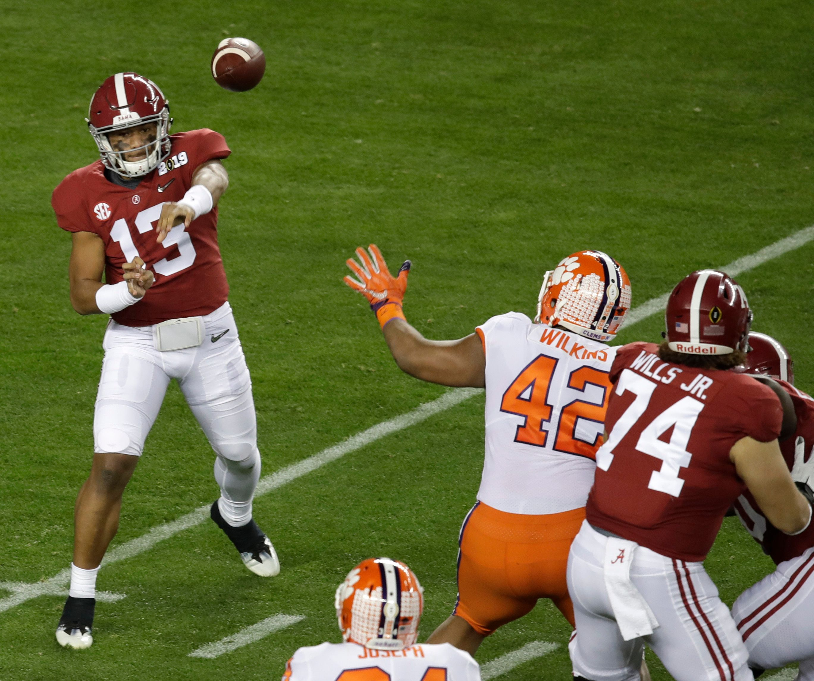 Orange Crush: Clemson topples No. 1 'Bama for national title